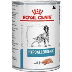 Alimento Úmido Royal Canin Canine Veterinary Diet Hypoallergenic Wet Cães Lata 400g