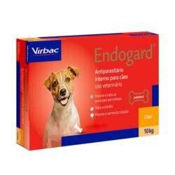 Endogard Vermífugo Cães até 10kg Virbac 6 comprimidos