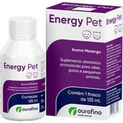 Energy Pet Suplemento Cães e Gatos Ouro Fino 125ml