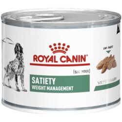 Alimento Úmido Royal Canin Veterinary Diet Cães Satiety Support Wet Lata 195g