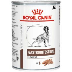 Alimento Úmido Royal Canin Veterinary Diet Cães Gastro Intestinal Low Fat Wet Lata 410g