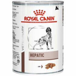Alimento Úmido Royal Canin Veterinary Diet Cães Hepatic Wet Lata 420g