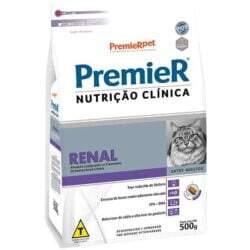 Ração Premier Nutrição Clínica Renal Gatos Adultos 500g